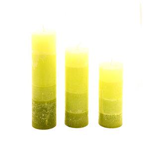 Set kaarsen degradé